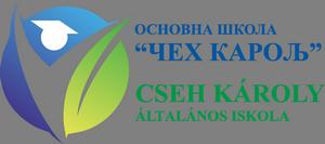 О.Ш. Чех Карољ – Cseh Károly Ált.Isk. Logo